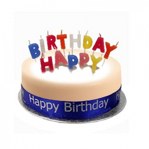 Best ideas about Send Birthday Cake . Save or Pin Birthday Cake Sponge Blue Now.
