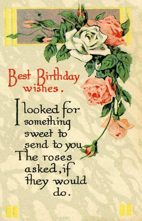 Best ideas about Send Birthday Wish . Save or Pin 50 Best Birthday Wishes for Friend with 2019 Now.
