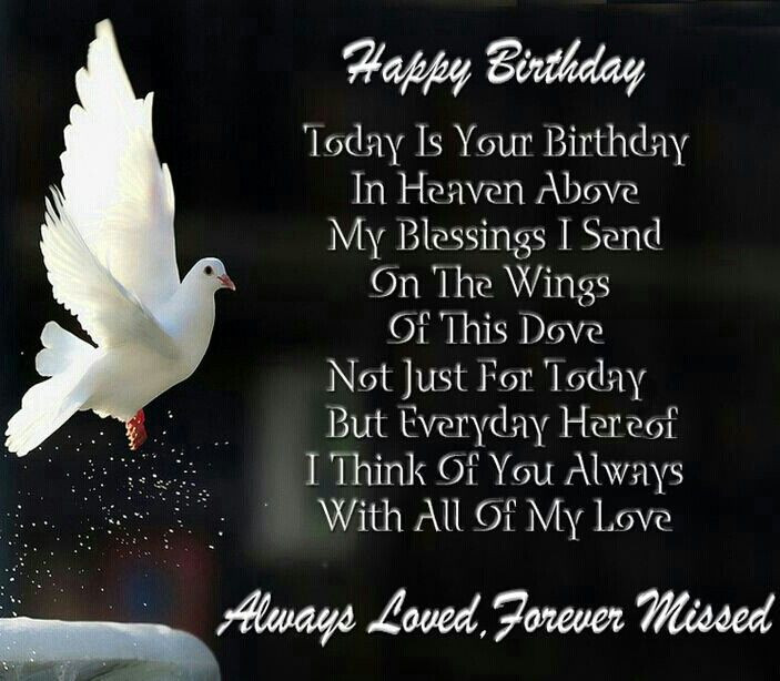 Best ideas about Sending Birthday Wishes To Heaven . Save or Pin Happy birthday in heaven MISSING MY DADDY Now.