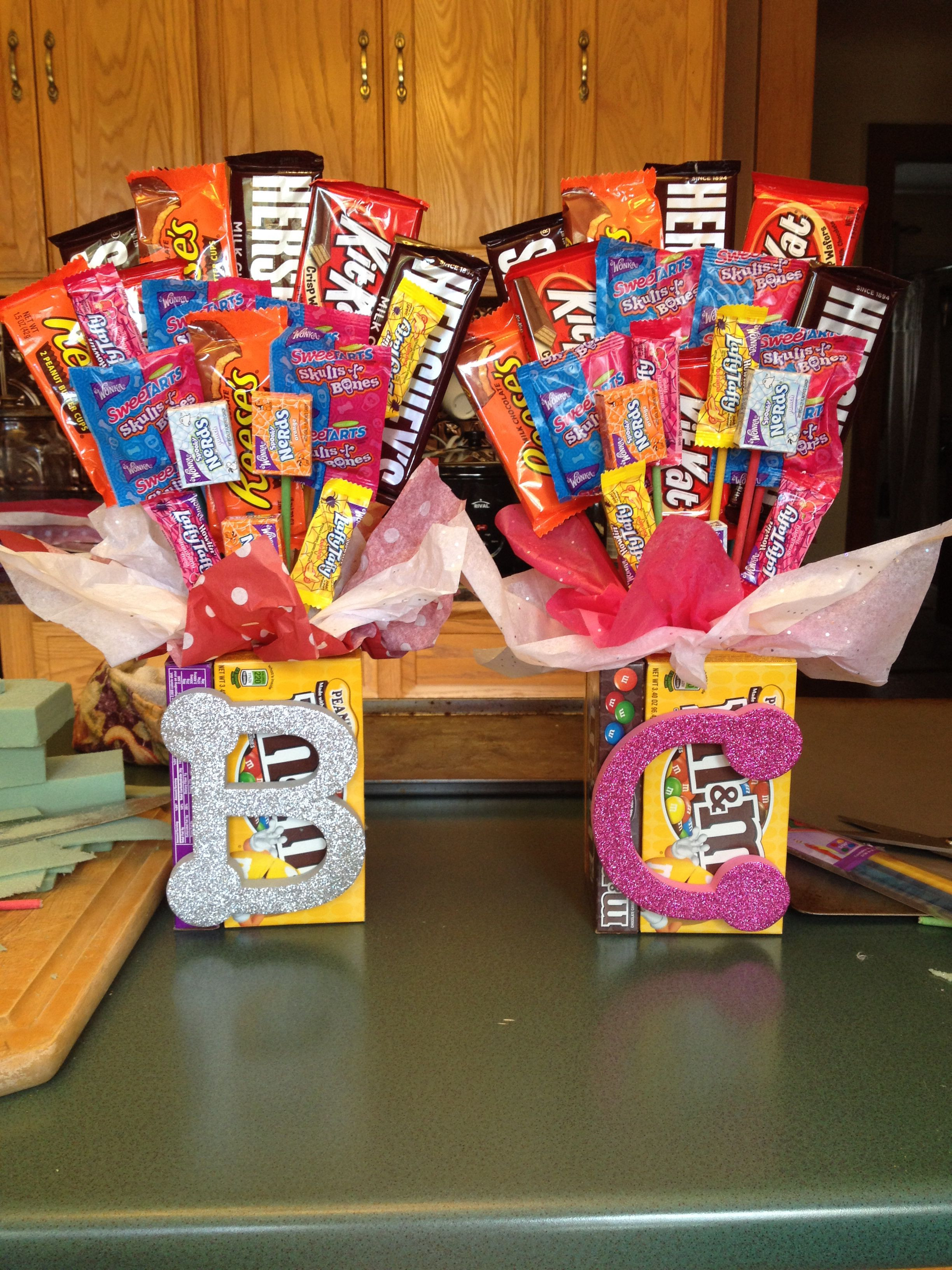 Best ideas about Senior Gift Ideas . Save or Pin Candy bouquet I did this for senior night ts but it Now.