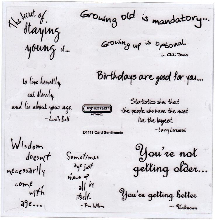 Best ideas about Sentimental Birthday Wishes . Save or Pin 670 best images about Card Fronts on Pinterest Now.