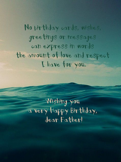 Best ideas about Sentimental Birthday Wishes . Save or Pin 25 unique Birthday message for father ideas on Pinterest Now.