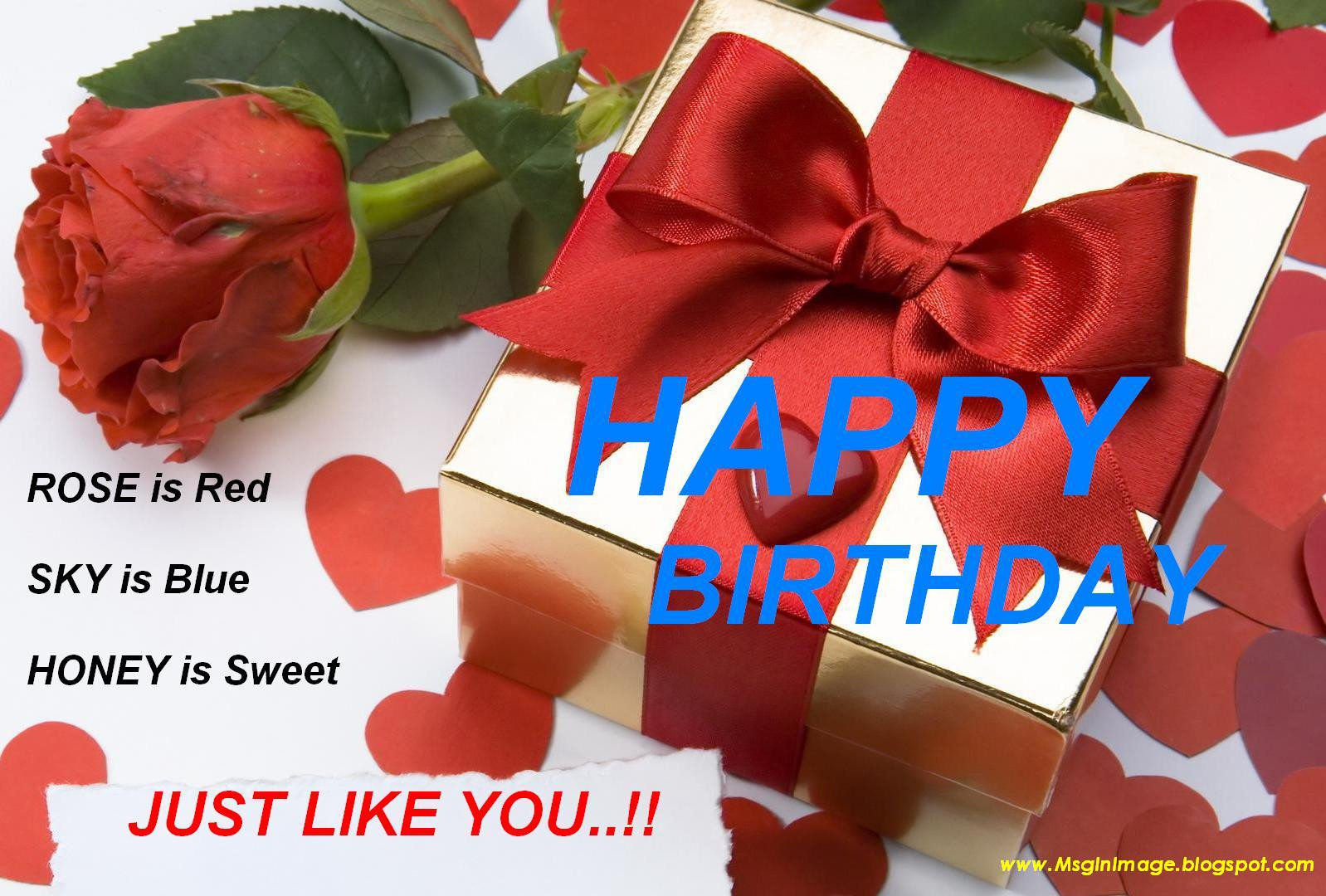 Best ideas about Sexy Birthday Wishes . Save or Pin of Happy Birthday Quotes Message Message In Image Now.