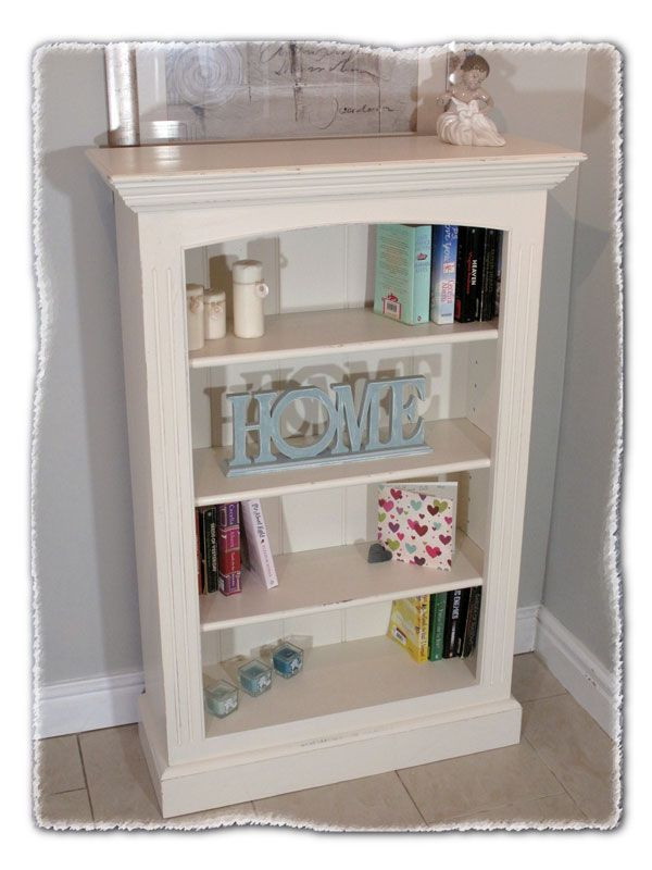 Best ideas about Shabby Chic Bookcase . Save or Pin Small Shabby Chic Bookcase Now.