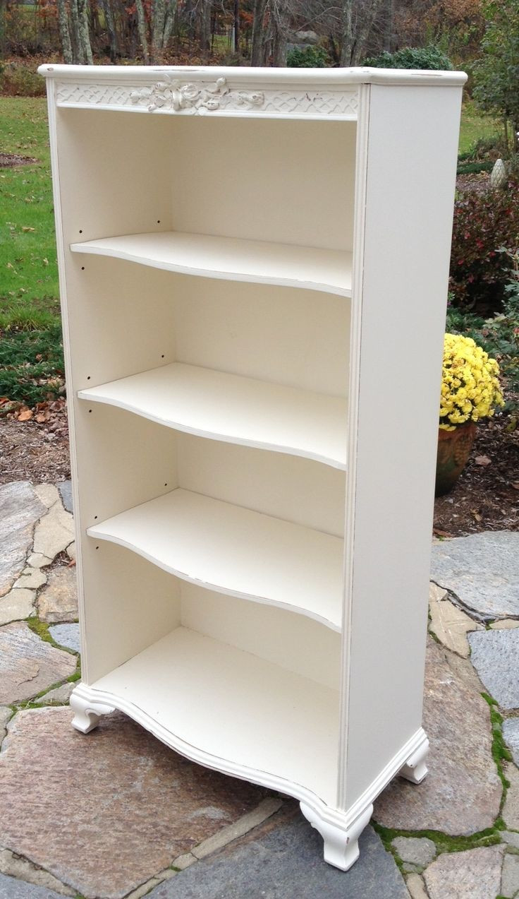 Best ideas about Shabby Chic Bookcase . Save or Pin 1000 images about Vintage Bookcases on Pinterest Now.