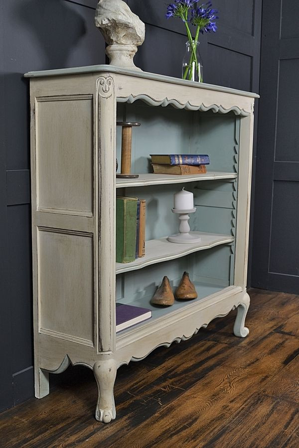 Best ideas about Shabby Chic Bookcase . Save or Pin Small French Curve Fronted Bookcase Now.