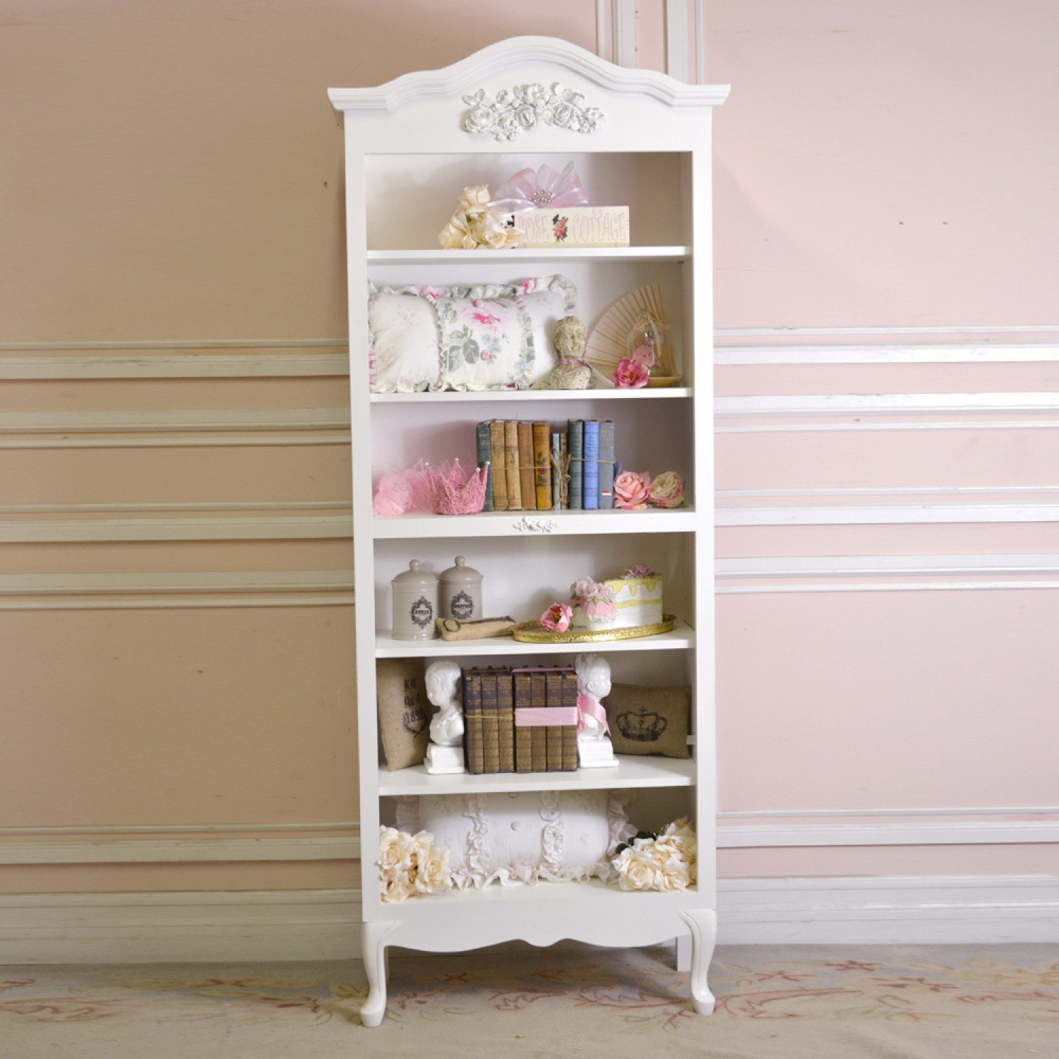 Best ideas about Shabby Chic Bookcase . Save or Pin Shabby Chic Bookshelf How to Vintage Appeal Now.