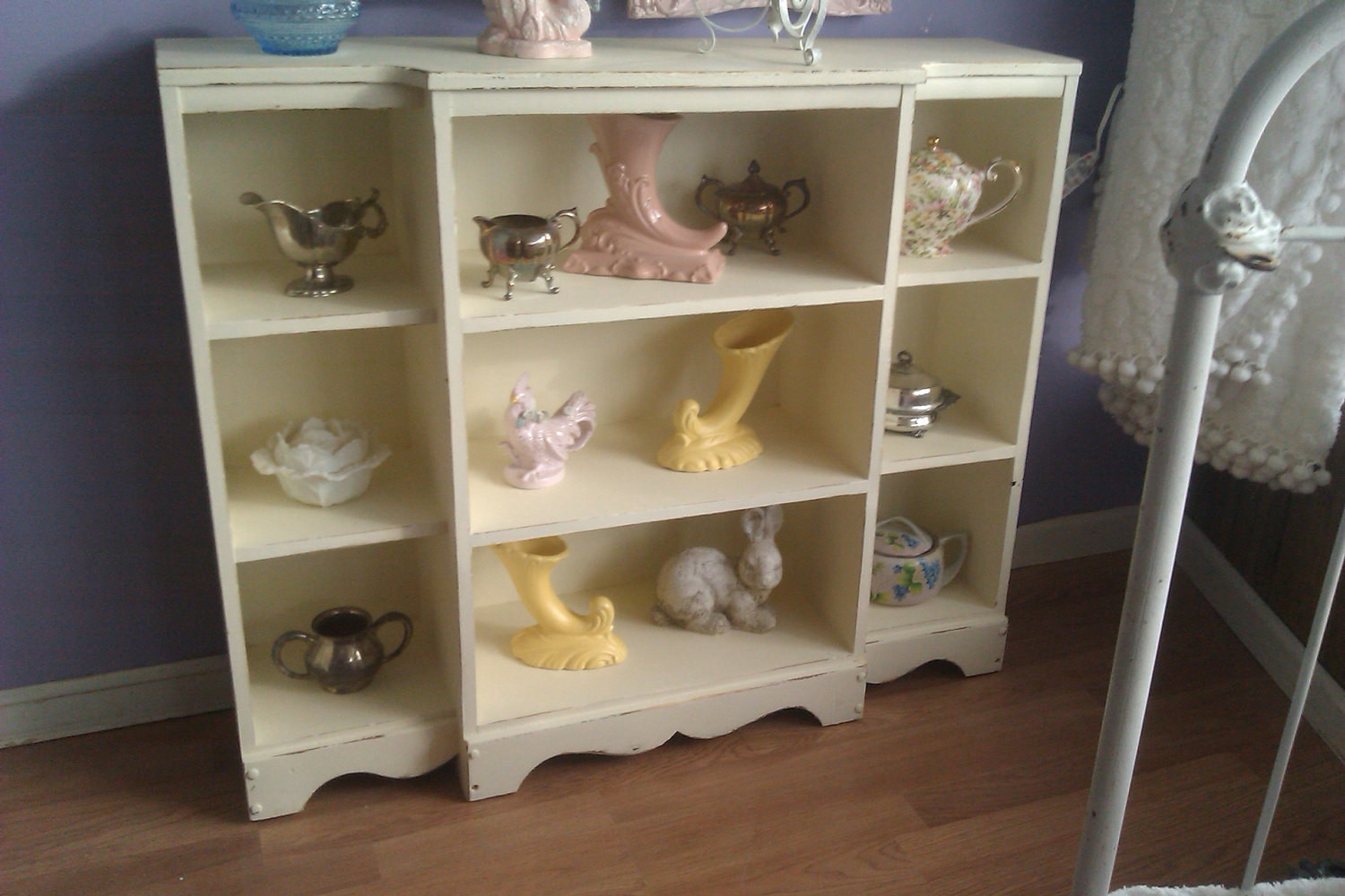 Best ideas about Shabby Chic Bookcase . Save or Pin vintage chic bookcase shabby book case cottage distressed Now.