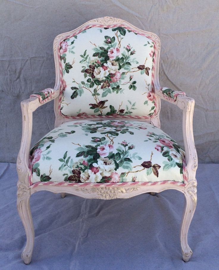 Best ideas about Shabby Chic Chairs . Save or Pin Rose chintz vintage shabby chic chair upholstered Now.