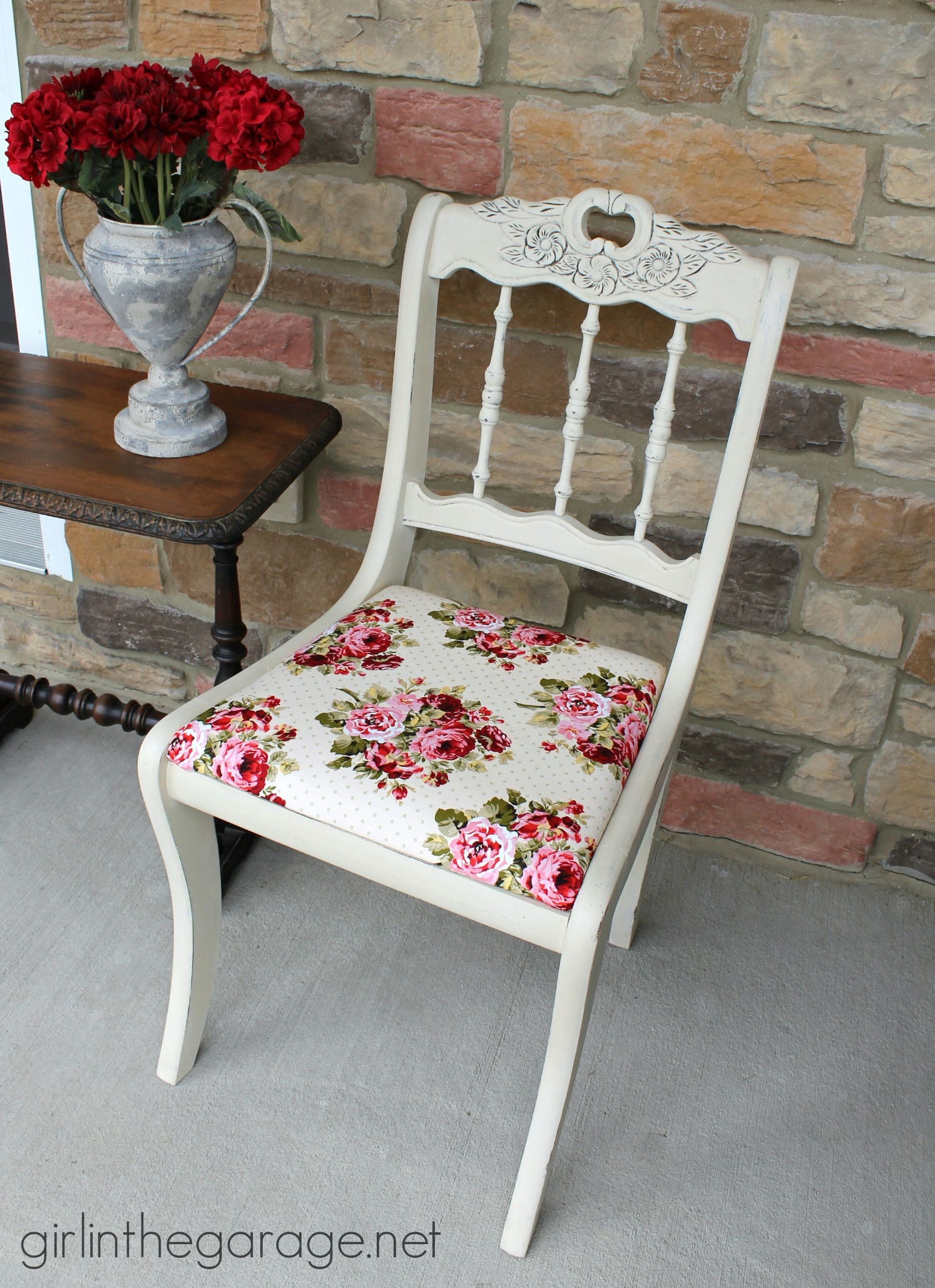 Best ideas about Shabby Chic Chairs . Save or Pin Shabby Chic Chair Makeover Now.