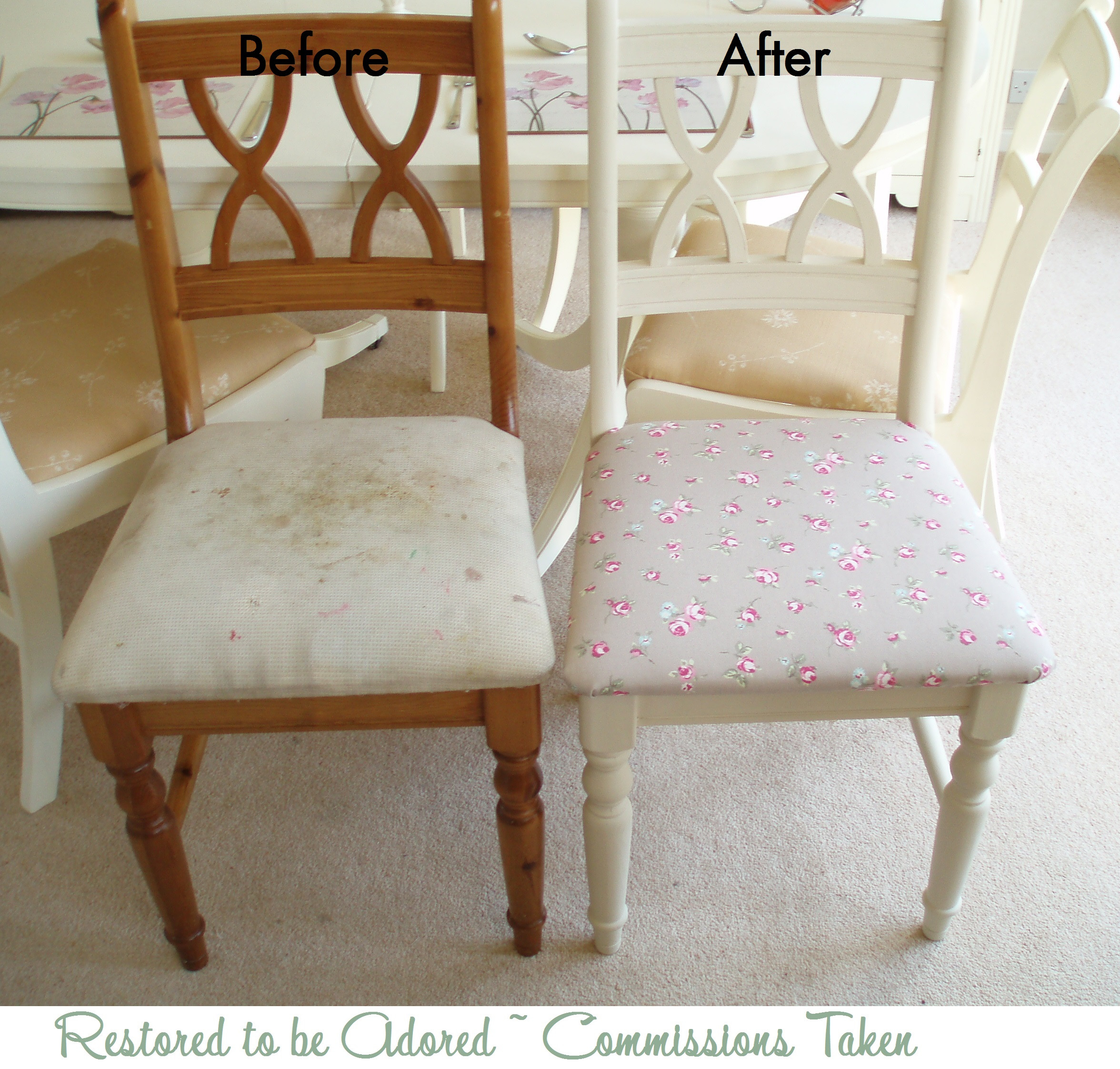 Best ideas about Shabby Chic Chairs . Save or Pin Dining Table Sets Now.