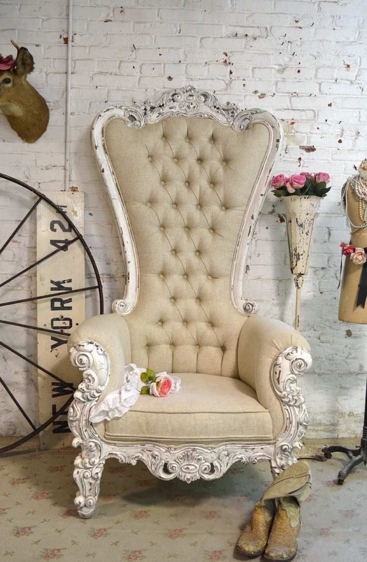 Best ideas about Shabby Chic Chairs . Save or Pin shabby chic chairs Now.