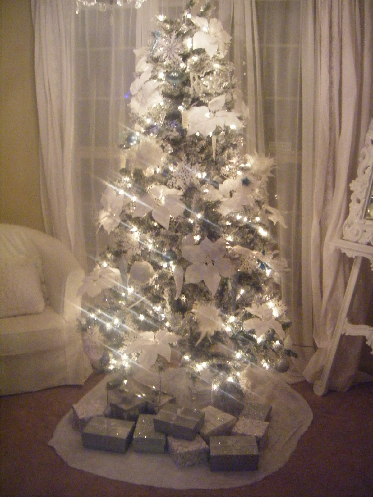 Best ideas about Shabby Chic Christmas Tree . Save or Pin Not So Shabby Shabby Chic My Christmas Tree 2011 Now.