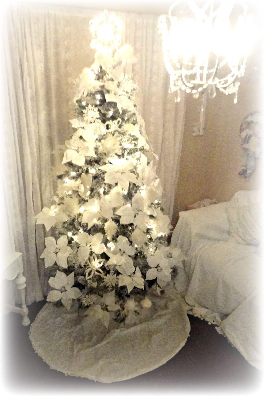 Best ideas about Shabby Chic Christmas Tree . Save or Pin Not So Shabby Shabby Chic Christmas Tree Oh Christmas Tree Now.