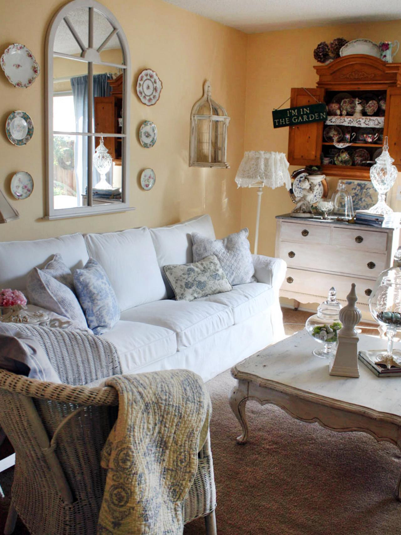 Best ideas about Shabby Chic Room . Save or Pin Shabby Chic Cottage Living Room Now.
