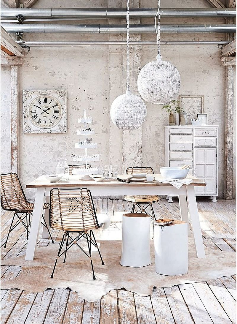 Best ideas about Shabby Chic Room . Save or Pin 25 Shabby Chic Dining Room Designs Decorating Ideas Now.