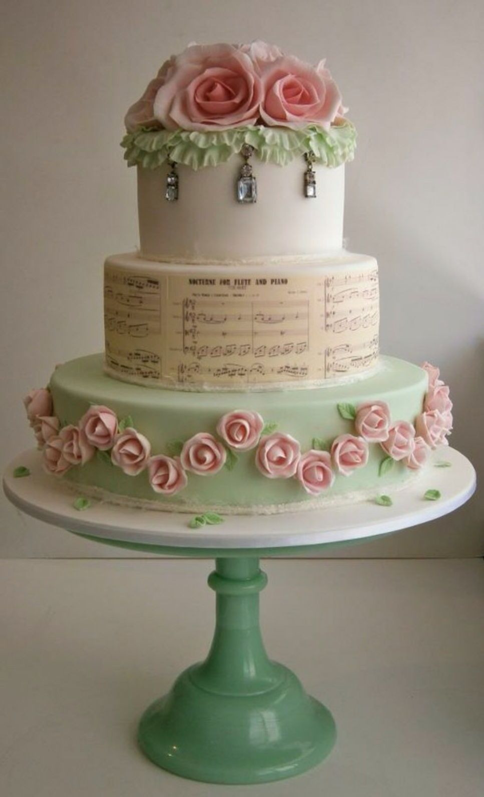 Best ideas about Shabby Chic Wedding Cake . Save or Pin Shabby Chic Wedding Cake Cakes Now.
