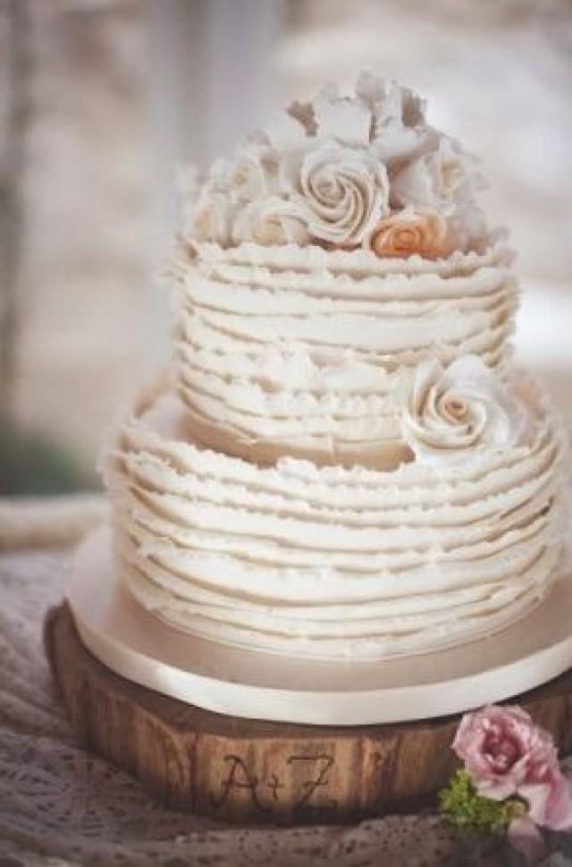 Best ideas about Shabby Chic Wedding Cake . Save or Pin Really Beautiful Shabby Chic Wedding Cakes Weddbook Now.