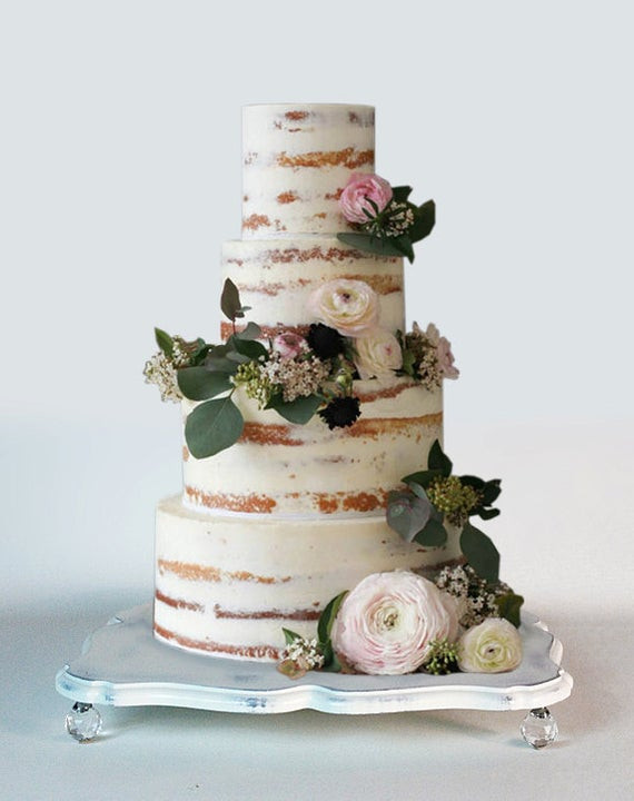 Best ideas about Shabby Chic Wedding Cake . Save or Pin Shabby chic wedding cake stand and serving tray Now.