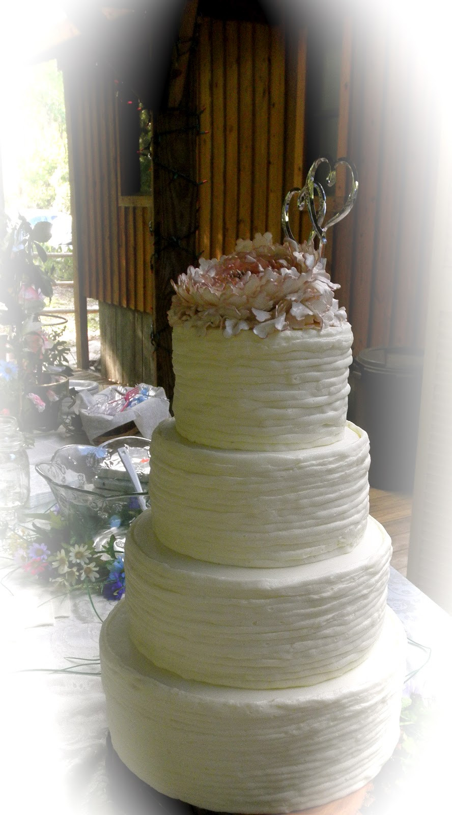 Best ideas about Shabby Chic Wedding Cake . Save or Pin Sweet T s Cake Design Shabby Chic Peony Rustic Wedding Cake Now.