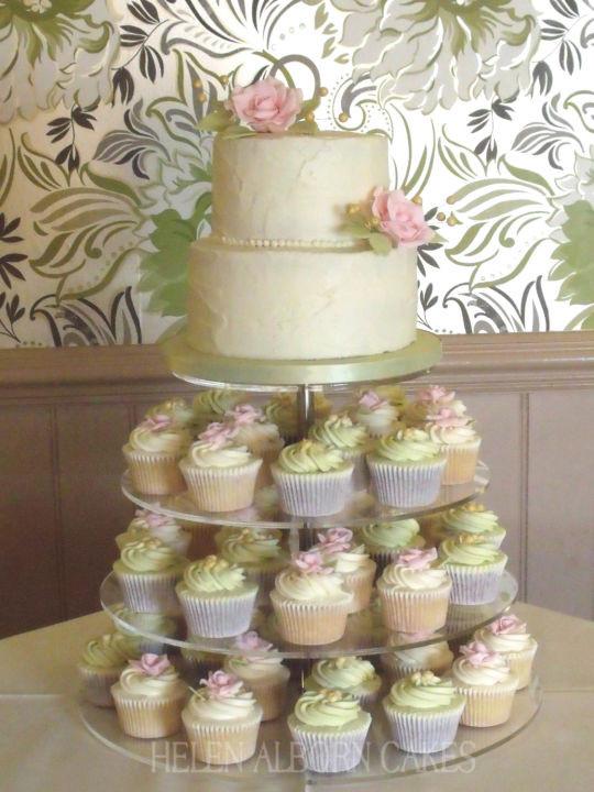 Best ideas about Shabby Chic Wedding Cake . Save or Pin Shabby chic wedding cake cake by Helen Alborn CakesDecor Now.