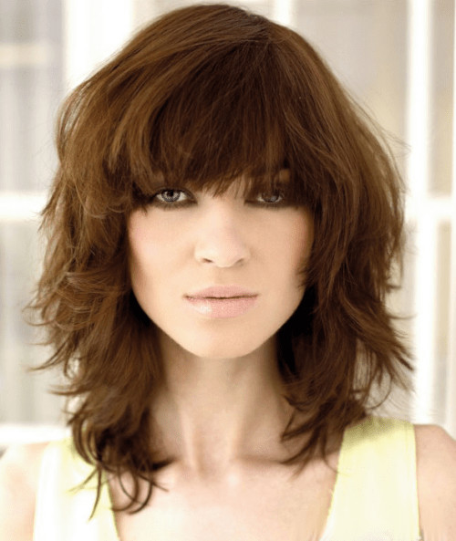Best ideas about Shag Haircuts For Thick Hair . Save or Pin 5 Peachy Curly Shag Haircuts For Short Medium and Long Curls Now.