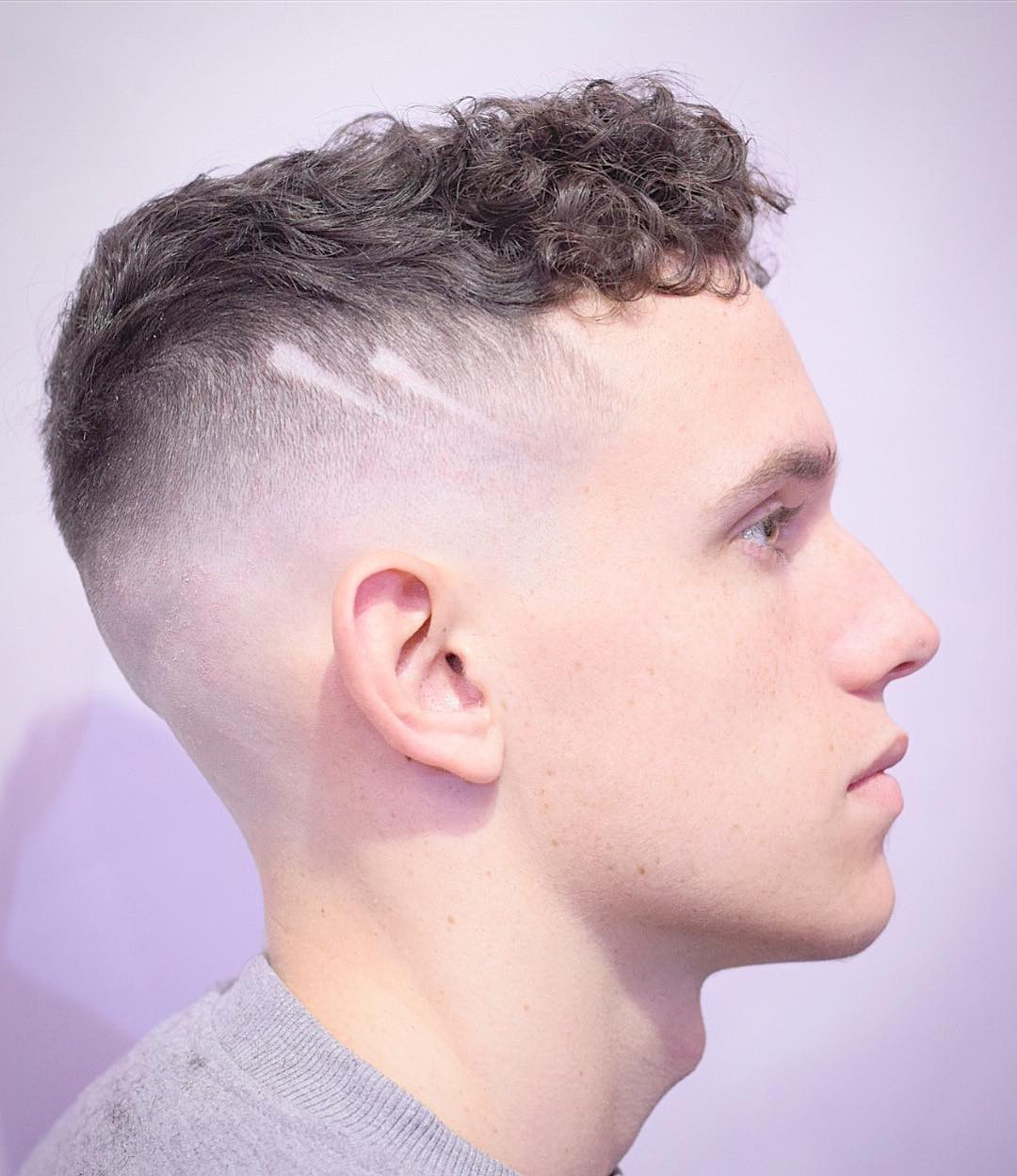 Best ideas about Shaved Side Hairstyles With Curly Hair . Save or Pin Cool Haircuts With Shaved Sides Now.
