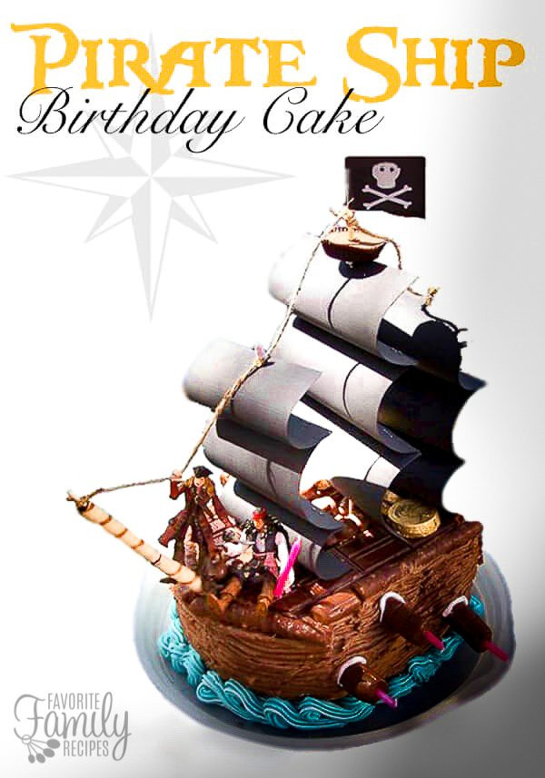Best ideas about Ship Birthday Cake . Save or Pin Pirate Ship Cake Now.