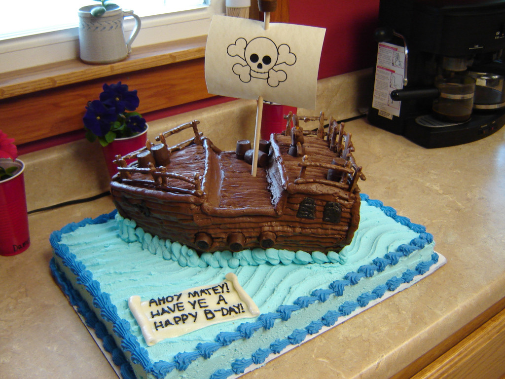 Best ideas about Ship Birthday Cake . Save or Pin Pirate Ship Birthday Cake Now.
