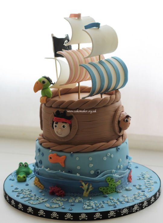 Best ideas about Ship Birthday Cake . Save or Pin Ship Ahoy Cake Now.
