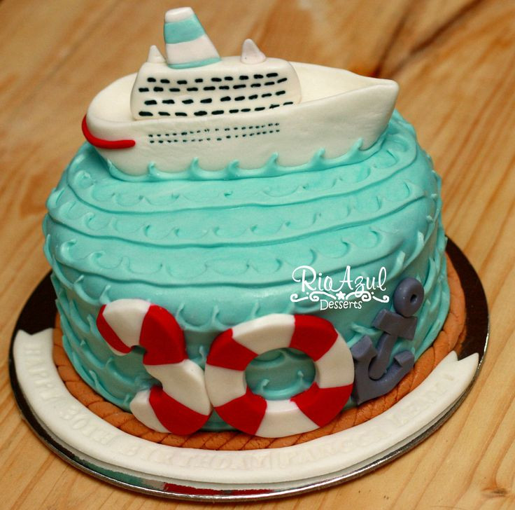 Best ideas about Ship Birthday Cake . Save or Pin Cruise Ship Cake vacation cruiseship resort Now.