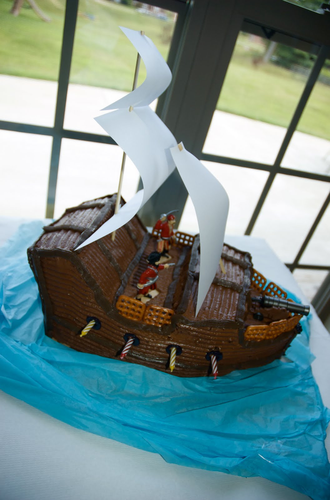 Best ideas about Ship Birthday Cake . Save or Pin Living Frugally without being called a Cheapskate Pirate Now.