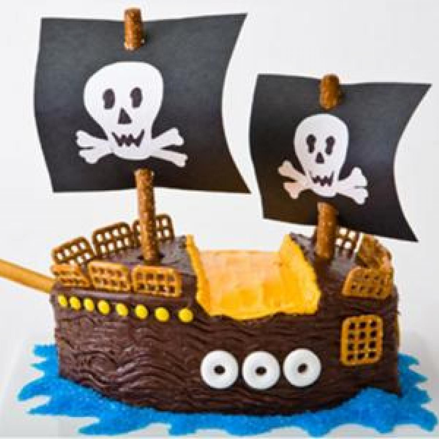 Best ideas about Ship Birthday Cake . Save or Pin Pirate Ship Birthday Cake Design Now.
