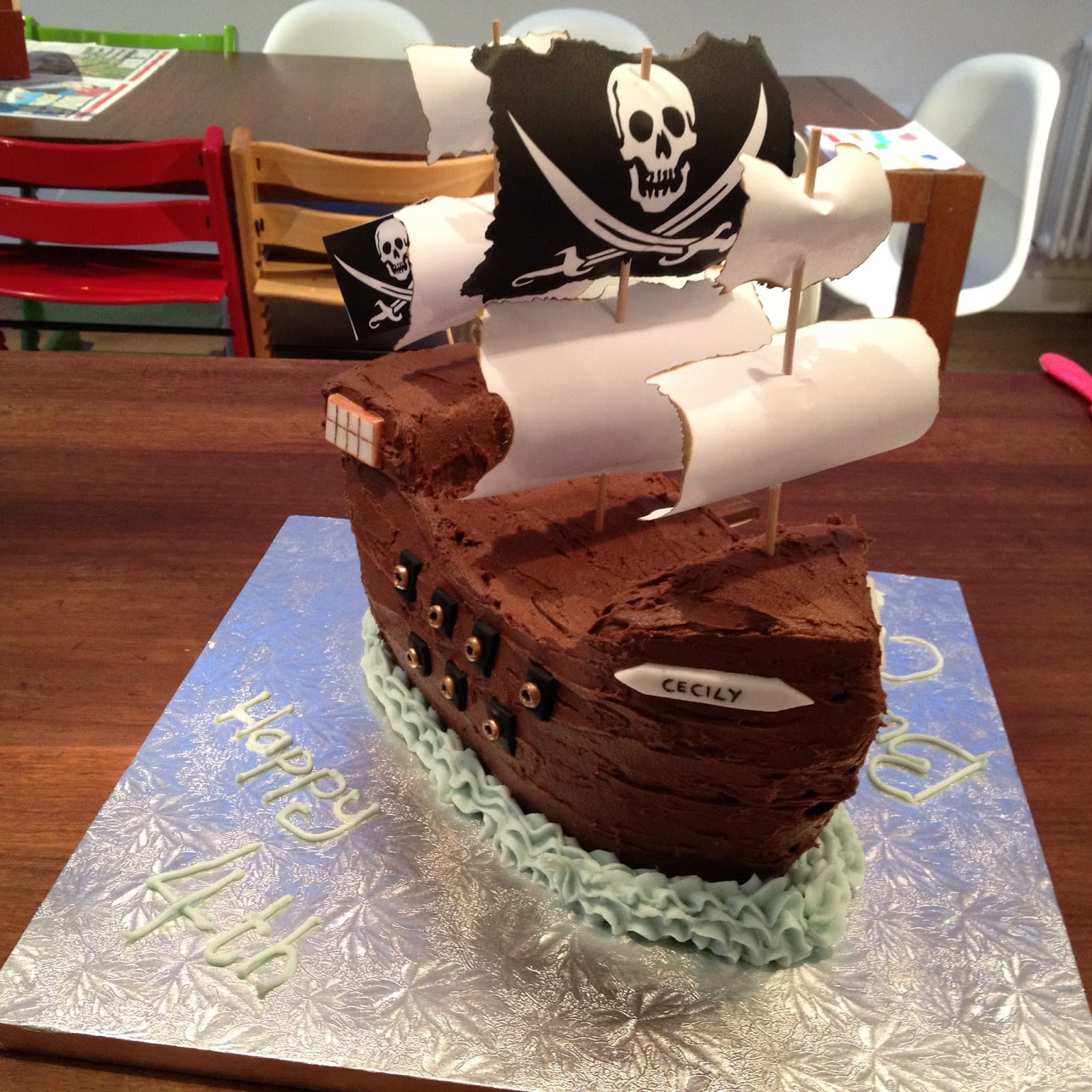 Best ideas about Ship Birthday Cake . Save or Pin Truly Scrumptious Pirate Ship Cake Now.