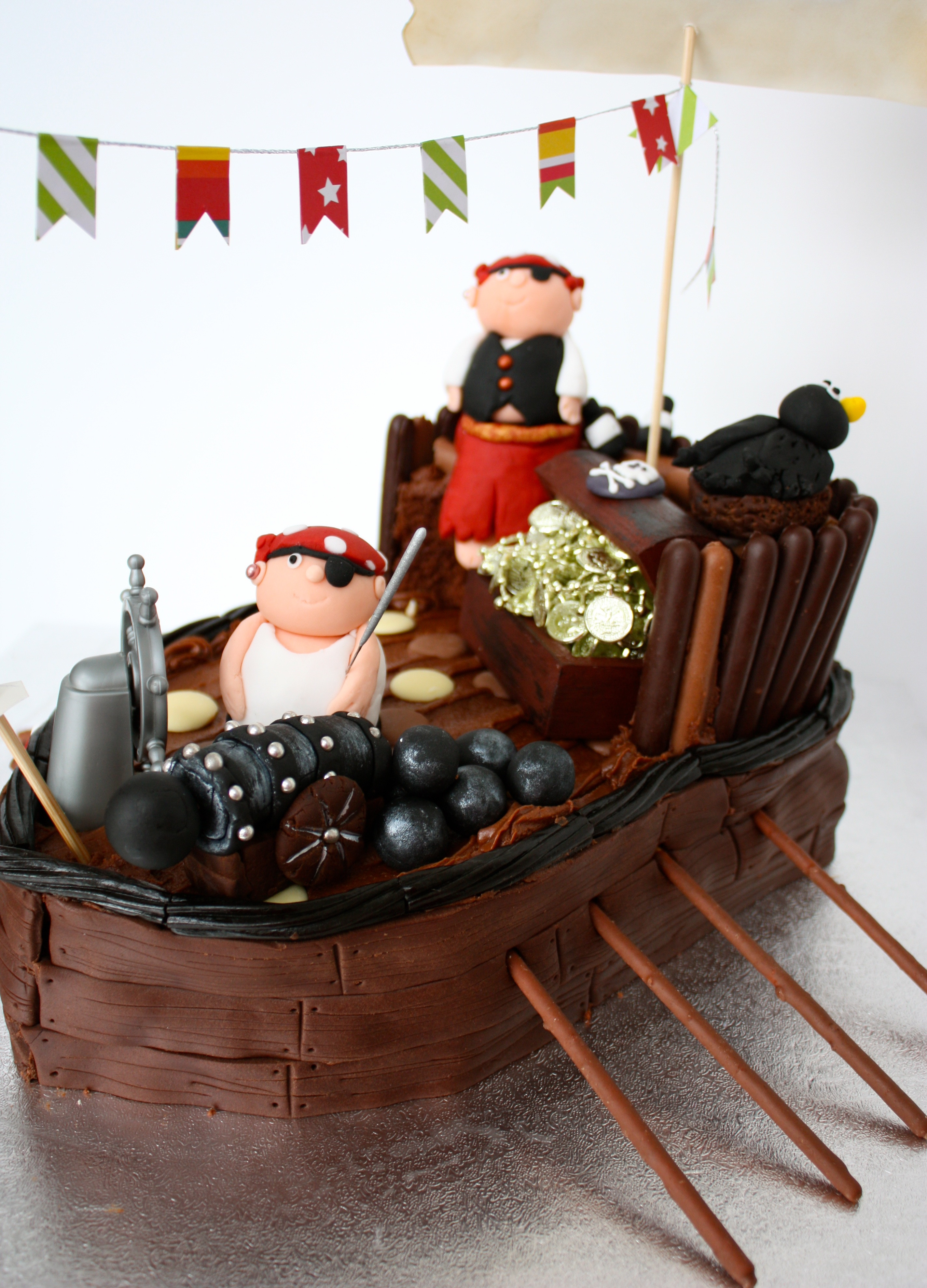Best ideas about Ship Birthday Cake . Save or Pin fondant Now.