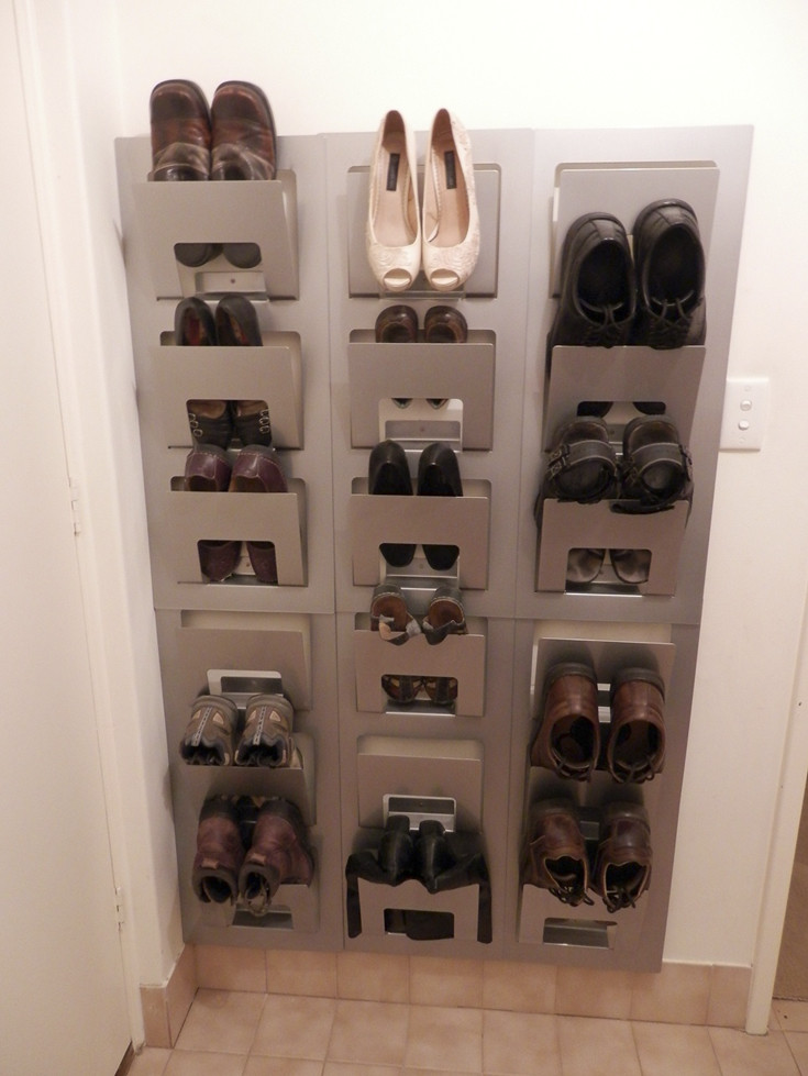 Best ideas about Shoe Storage DIY . Save or Pin 15 Clever DIY Shoe Storage Ideas Grillo Designs Now.