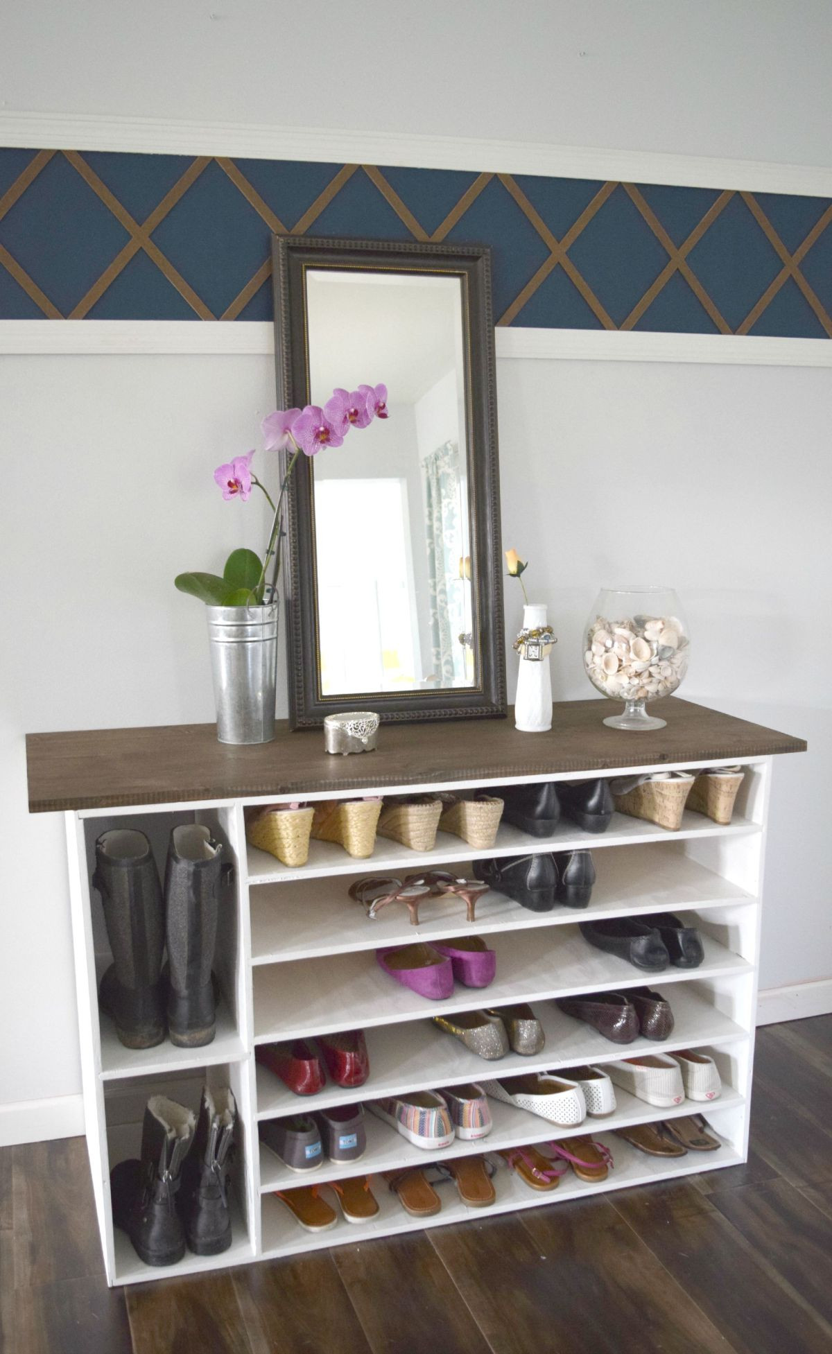 Best ideas about Shoes Organizer DIY . Save or Pin Stylish DIY Shoe Rack Perfect for Any Room Now.