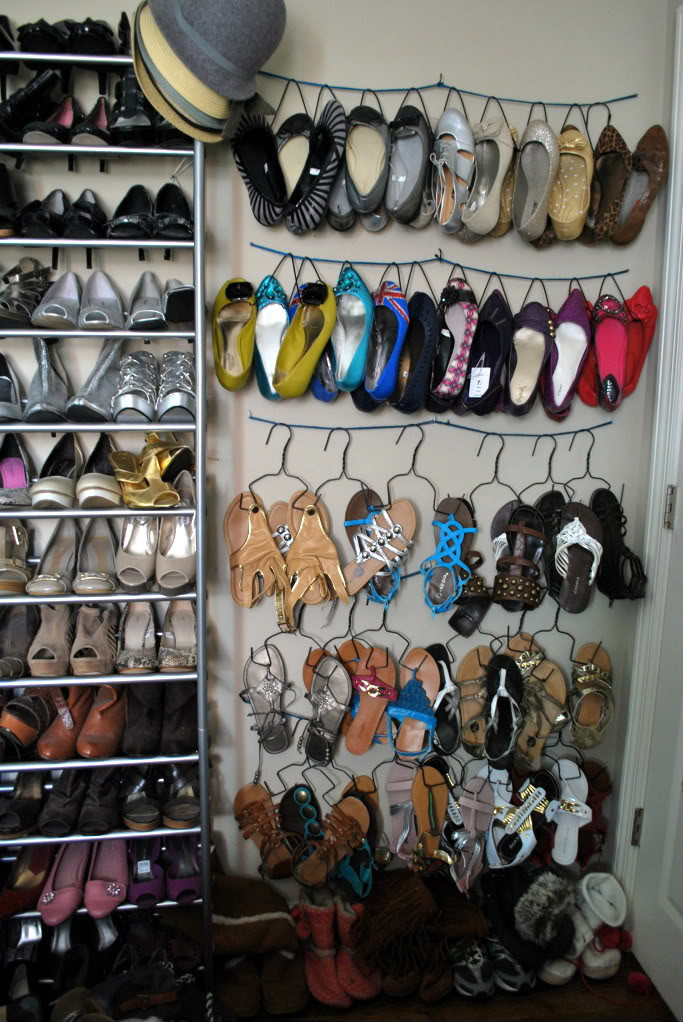 Best ideas about Shoes Organizer DIY . Save or Pin Remodelaholic Now.