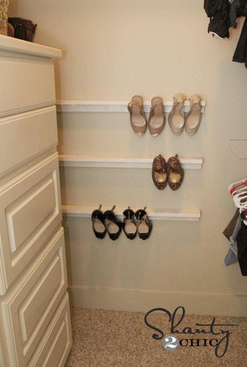 Best ideas about Shoes Organizer DIY . Save or Pin Closet Organization Shoe Organizers DIY Shanty 2 Chic Now.
