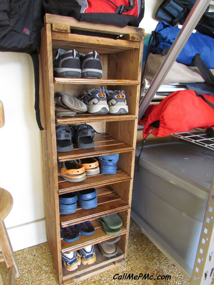 Best ideas about Shoes Organizer DIY . Save or Pin Best 25 Diy shoe rack ideas on Pinterest Now.