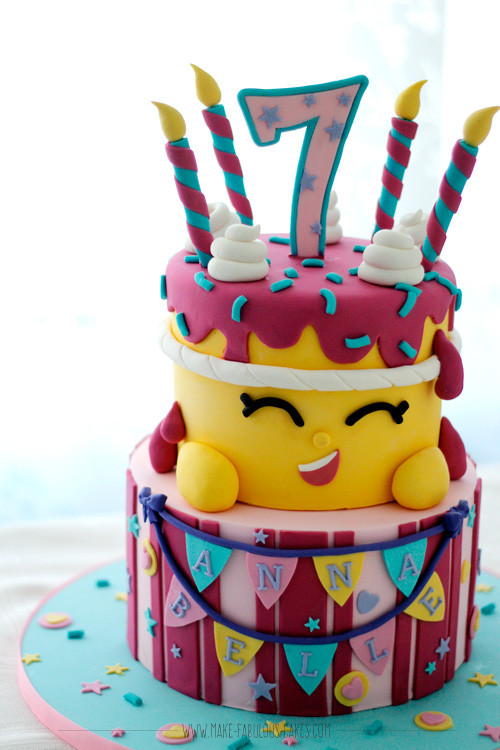 Best ideas about Shopkins Birthday Cake . Save or Pin Shopkins Cake Now.