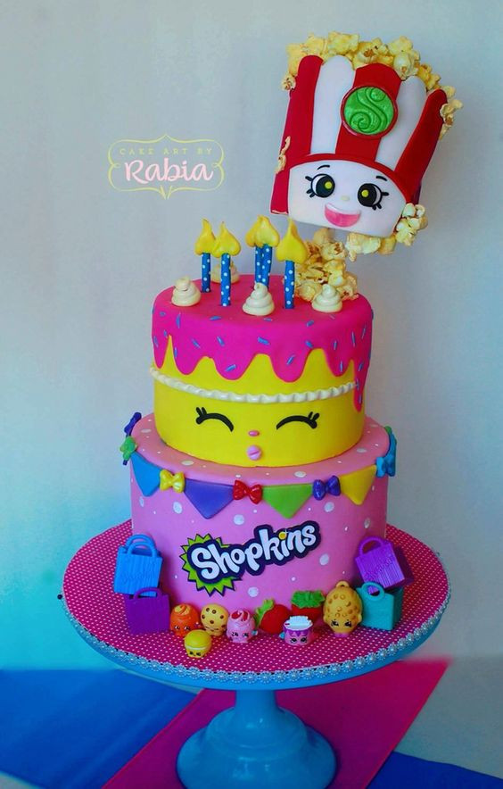 Best ideas about Shopkins Birthday Cake . Save or Pin 10 Adorable Shopkins Cakes Pretty My Party Now.