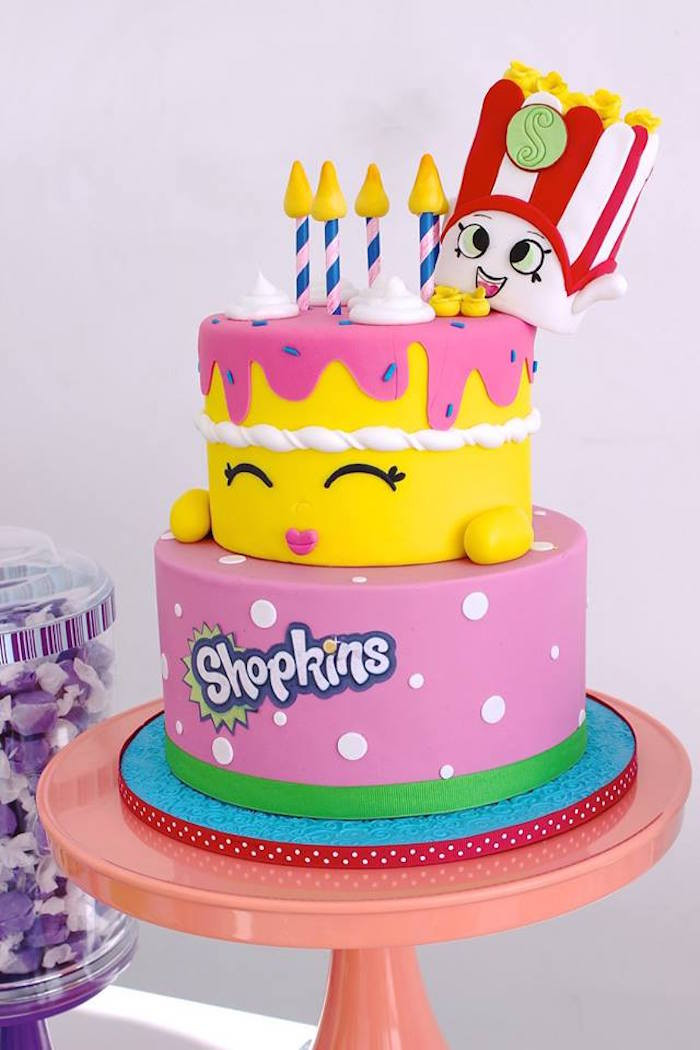 Best ideas about Shopkins Birthday Cake . Save or Pin Kara s Party Ideas Stylish Shopkins Birthday Party Now.