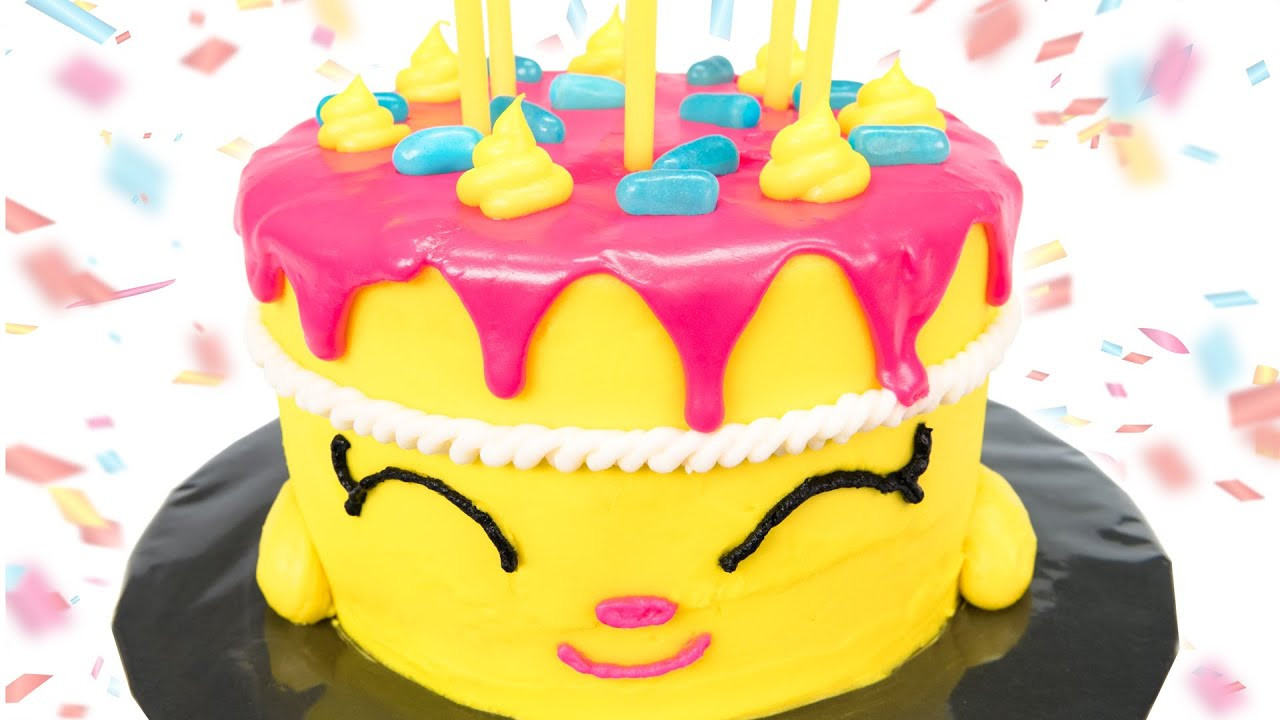 """Best ideas about Shopkins Birthday Cake . Save or Pin Shopkins Cake How to make Shopkins """"Wishes"""" Birthday Cake Now."""