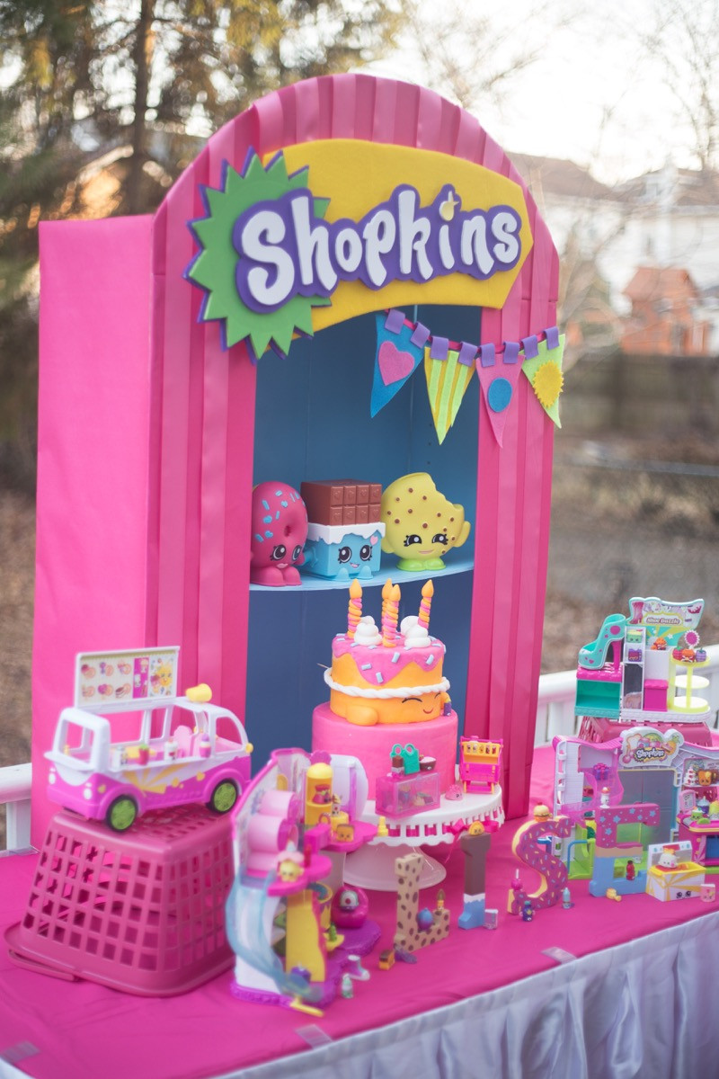 Best ideas about Shopkins Birthday Decorations . Save or Pin Incredible Shopkins Party Ideas Now.