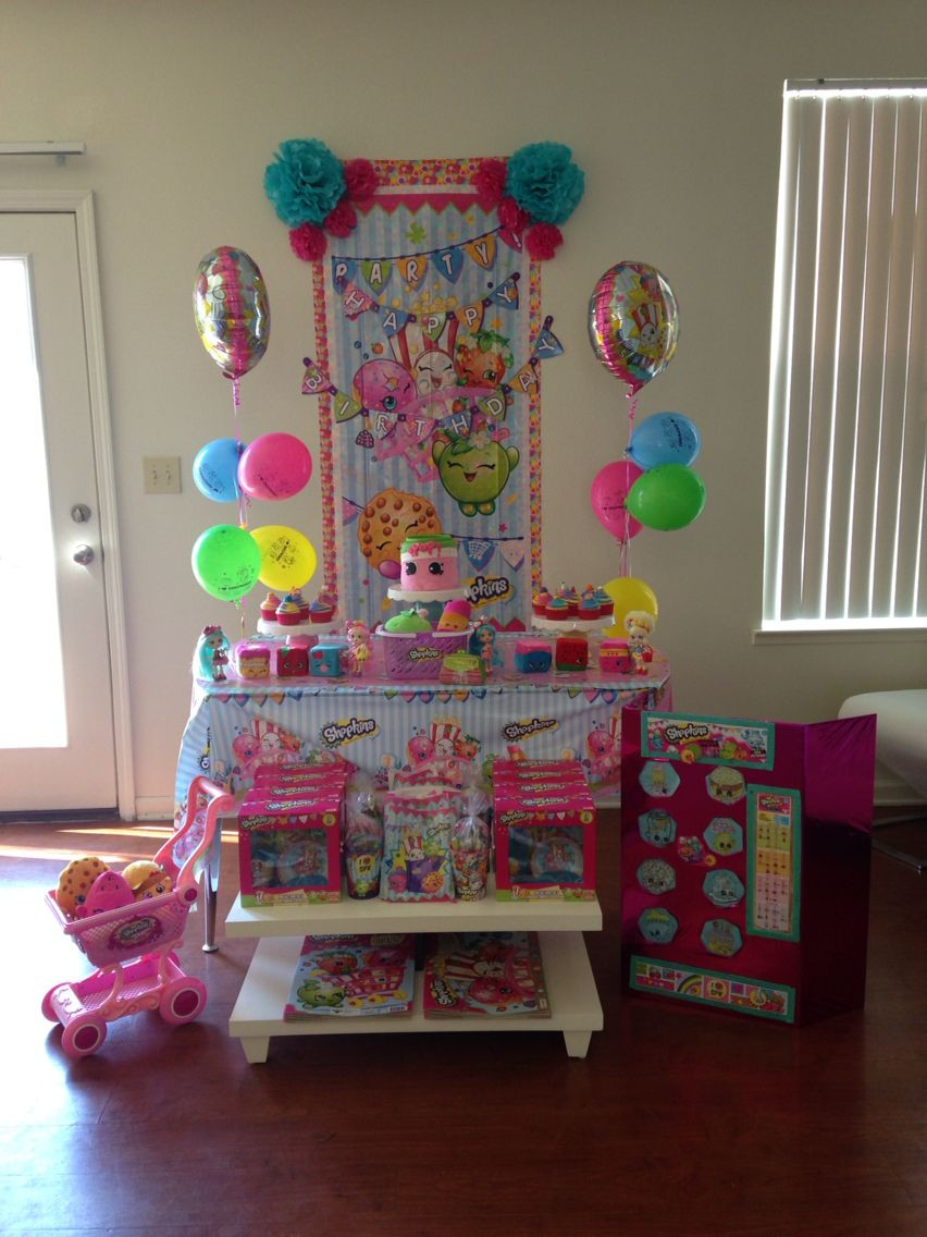 Best ideas about Shopkins Birthday Decorations . Save or Pin Shopkins birthday decoration Now.