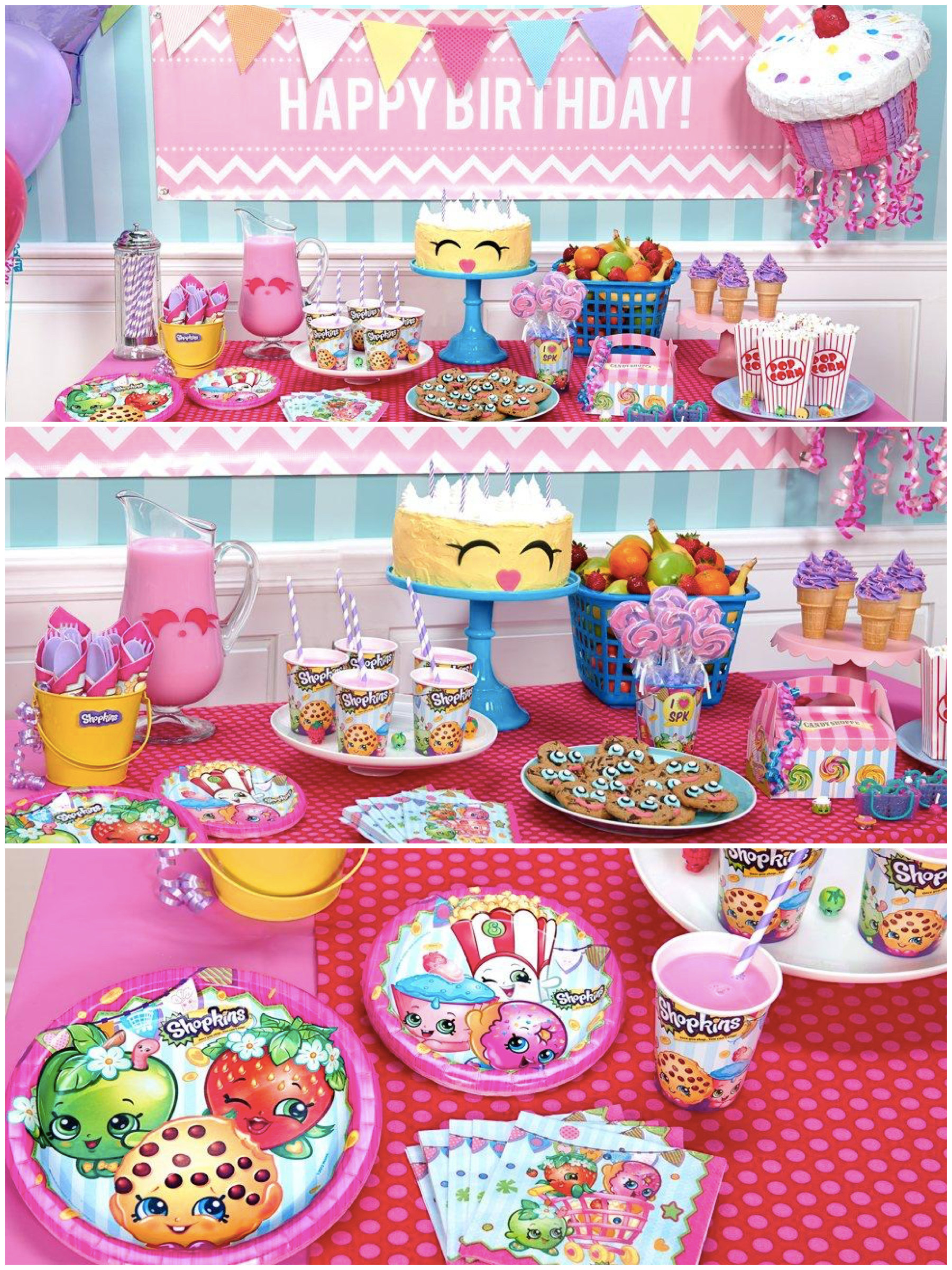 Best ideas about Shopkins Birthday Decorations . Save or Pin Shopkins Birthday Party Planning Ideas & Supplies Now.