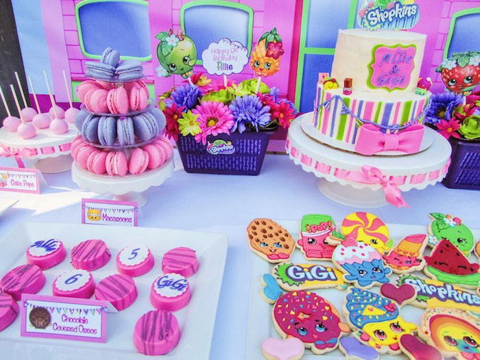 Best ideas about Shopkins Birthday Decorations . Save or Pin Kara s Party Ideas Colorful Shopkins Birthday Party Now.