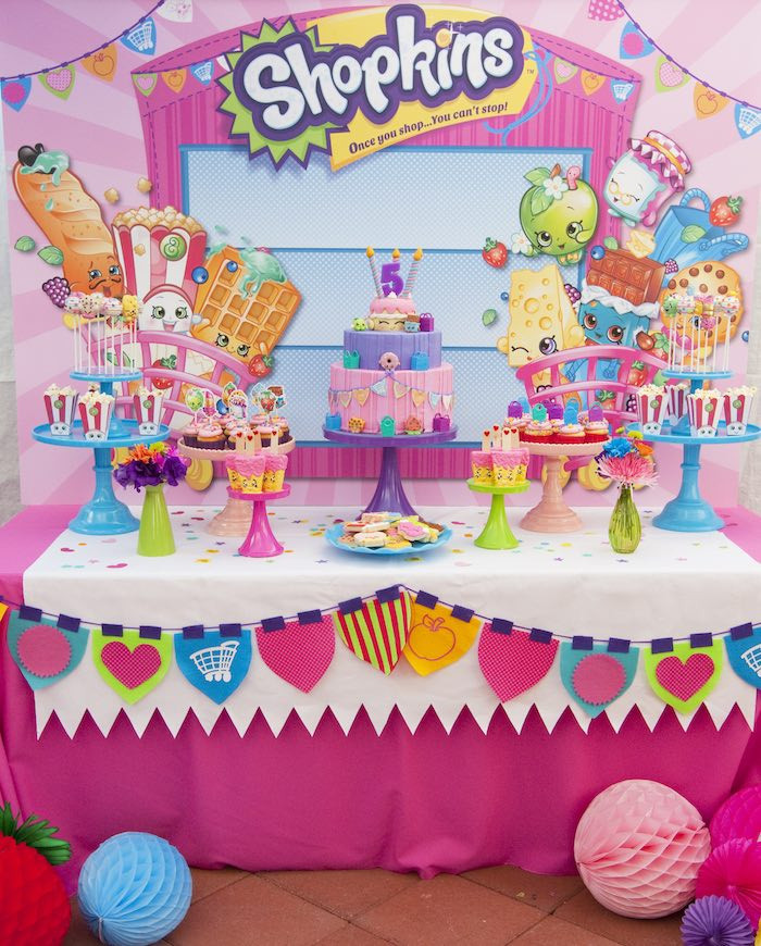 Best ideas about Shopkins Birthday Decorations . Save or Pin Kara s Party Ideas Shopkins Birthday Party Now.