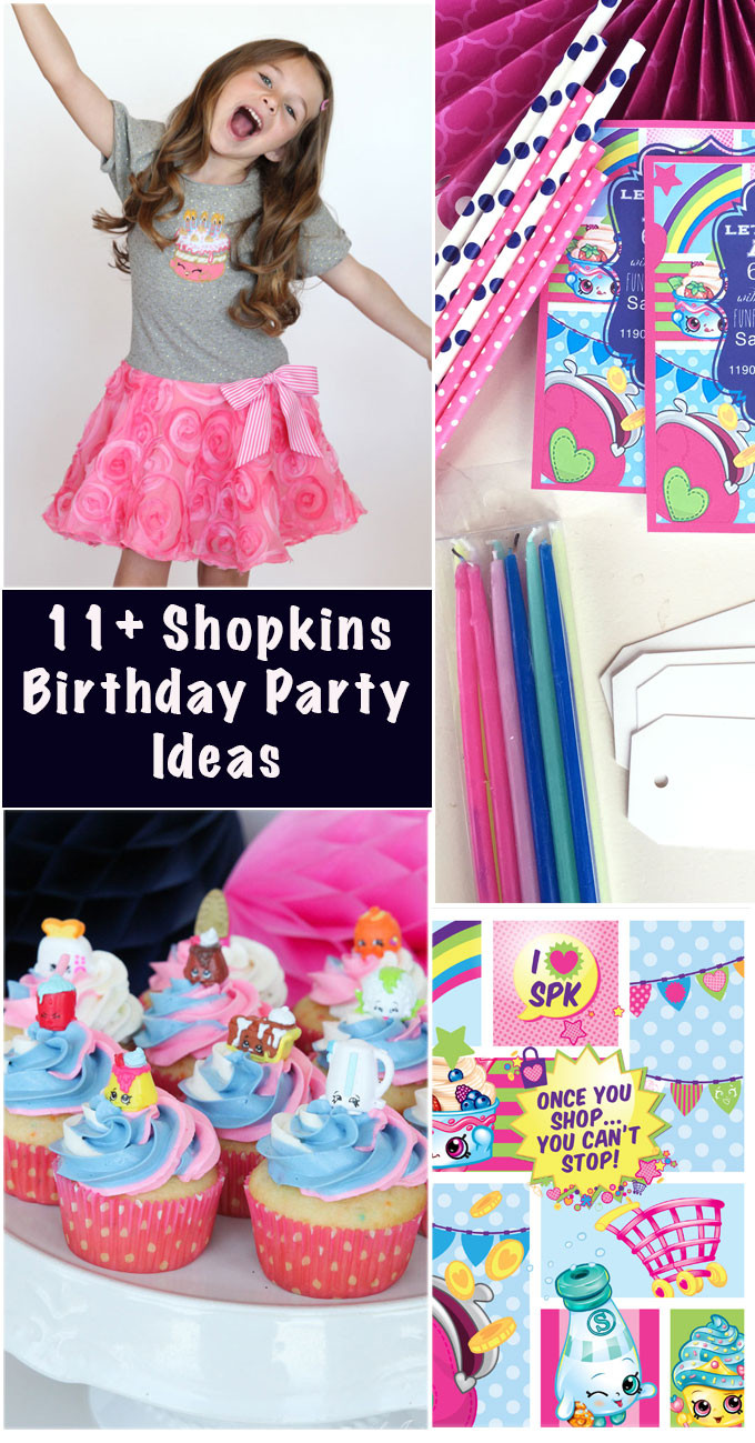 Best ideas about Shopkins Birthday Decorations . Save or Pin Shopkins Birthday Party Ideas girl Inspired Now.
